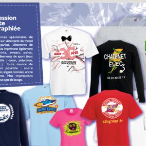 serigraphie t-shirts